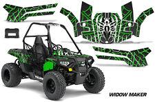 Polaris Sportsman ACE 150 ATV Graphic Kit Wrap Quad Accessories Decals WIDOW GRN