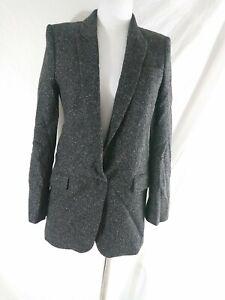 Zara Woman Size XS Tweed Blazer Jacket