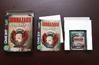 Game Boy Color Biohazard Gaiden boxed Japan GameBoy GBC game US Seller