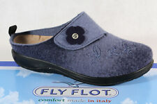 Fly Flot Ladies Slippers Mules Slippers Blue New