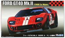 Fujimi RS-51 Ford GT40 Mk.II 1966 Le Mans 1/24 Scale Kit