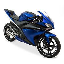 Vollverkleidung (Insgesamt 20 Stück) Blau/Schwarz für Yamaha YZF-R125 2008-2013