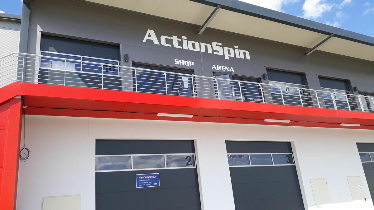 Actionspin -Tischtennisfachhandel-