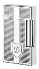 S.T. Dupont Ligne 2 Lighter, Palladium Blazon,16621 (016621),  New In Box