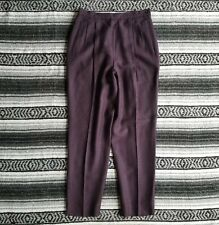 Preston /& York Plaid Womens Business Red Blue Beige Brown Vintage Slacks Size 16