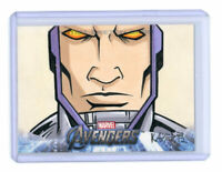 2012 Upper Deck Avengers Assemble Sketch Card by Bryan Tillman