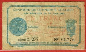 CHAMBER OF COMMERCE OF ALGERS ALGERIA (PIROT#137-24)
