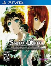 Steins;Gate [Sony PlayStation Vita PSV, Mystery Suspense Visual Novel] NEW