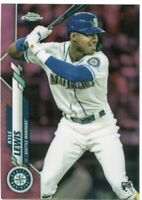 2020 Topps Chrome Pink Refractors #186 Kyle Lewis
