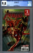 Avengers #1  (2017)  Alex Ross Cover  Spider-Man Jane Foster Thor  CGC 9.8