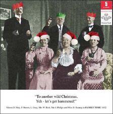 Pack de 5 rétro famille Humour Prince's Trust charité Cartes de Noël Packs de carte