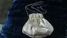 Vintage Vanessa Gold Purse with Long Chain