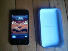 Apple iPod Touch 4th Generation Black 32Gb Functional As Is for Parts or Repairg