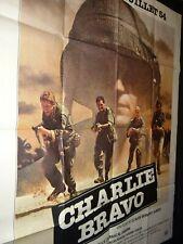 CHARLIE BRAVO  affiche cinema indochine
