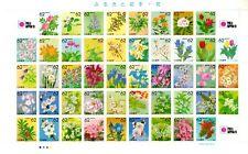Japan 1989 - 90 SC Z69a - Prefecture Flowers - Complete  - MNH