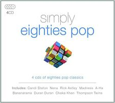 SIMPLY EIGHTIES POP  4 CD NEU