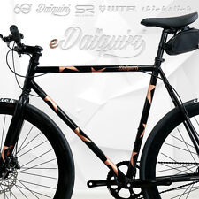 EBike Electric Bike 700c eDaiquiri PATRIOT Single Speed Bicycle e-bike Size 54M