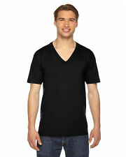 American Apparel V-Neck T-Shirt 2456W XXS-2XL Fine Jersey IMPORTED