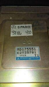1992 Mitsubishi Diamante ecm ecu computer MD175551