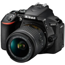 Nikon D5600 24.2MP DX Digital SLR Camera + AF-P 18-55mm f3.5-5.6G VR DSLR Lens