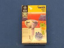 "General Electric FLORA R63 E27 60W 230V Usine Lampe ""enrich Spot"""