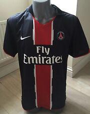 Authentic PARIS ST tedesco 2010-11 Large Uomo Calcio Casa Maglietta exc cond