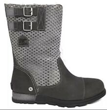 New Women's Sorel 'Major' Pull On Perforated Boot SZ 6M Grey