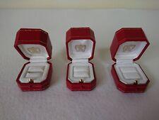 CARTIER GENUINE Ring BOX 4211 JEWELRY PRESENTATION BOX 3 Set 402048