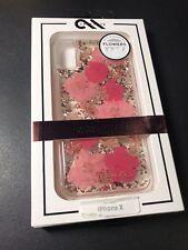 CaseMate Karat Petals iPhone X Case - Pink Petals Brand New