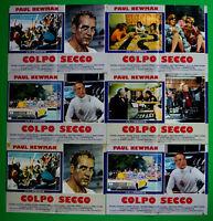 H42 Lot Fotobusta Schlag Trocken Paul Newman George Roy Hill Sport Hokey