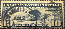 Scott #C10 US 1927 10 Cent Lindbergh Airmail Stamp VF