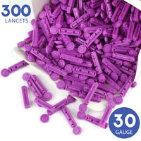 300 Lancets 30 Gauge Twist Top Lancets for Diabetic Blood Testing Disposable US