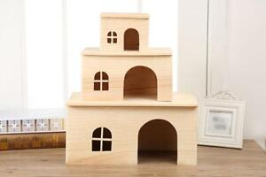 Square Small Pet Animal House Cages Nesters for Guinea Pigs Hamster Chinchillas