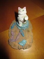 """4.5"""" Ceramic Cat Figurine Cute!"""