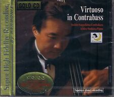 NAGASHIMA, YOSHIO Virtuoso In Contrabass Japan Gold CD Neu OVP Sealed
