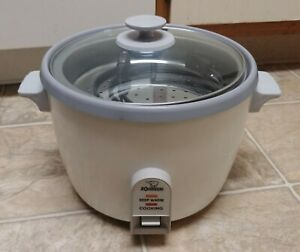 Zojirushi NHS 10-Cup Uncooked Rice Cooker With Steamer Accessory