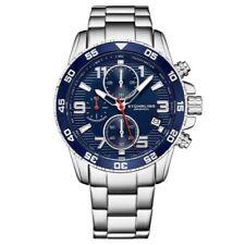Stuhrling 3957 2 Quartz Chronograph Date Stainless Steel Bracelet Mens Watch