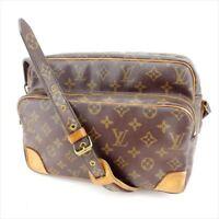Louis Vuitton Shoulder bag Monogram Brown Woman Authentic Used Y3555
