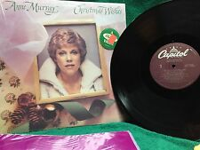"""Anne Murray """"Christmas Wishes"""" LP SNX-16232 Capitol Stereo 1981"""