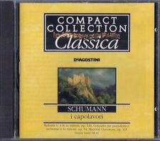 CD - DE AGOSTINI - COMPACT COLLECTION CLASSICA i capolavori - R. SCHUMANN