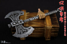 "1:6th Scale Action Figure Toy Cold weapon ax&axe model For 12""Male & Female Body"