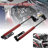 Pair Front Hood Bonnet Gas Strut Damper Lifter For Toyota Hilux Vigo 2005 - 2012