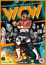 WCW: Greatest PPV Matches - Volume 1 DVD (2014) Ric Flair cert 15 3 discs