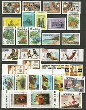 DOMINICA SMALL FINE MINT COLLECTION OF LATER COMMEMORATIVE ISSUES SET & PT SETS