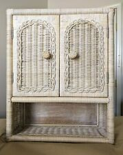 New Wicker Wall Cabinet