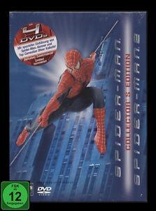 DVD SPIDER-MAN 1 + 2 - COLLECTOR'S EDTION - 4 DISC SET - alte FSK *** NEU ***
