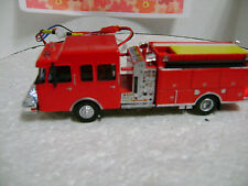Ho scale Fire truck,pumper with flashing Led's