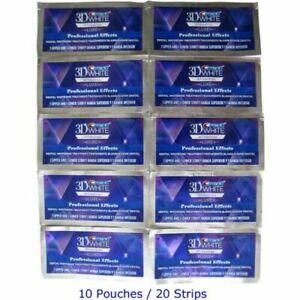 Strips Zahnaufhellung Whitestrips Weiss Professional 10 Beutel/20 Streifen