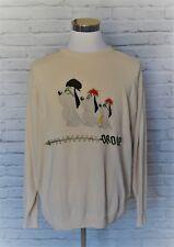 JC DE CASTELBAJAC Progressive Droopy Dog Sweater Jumper Men's EU 58 4XL #47