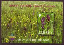 JERSEY 2003 JERSEY AT BANGKOK OVERPRINT UNMOUNTED MINT, MNH